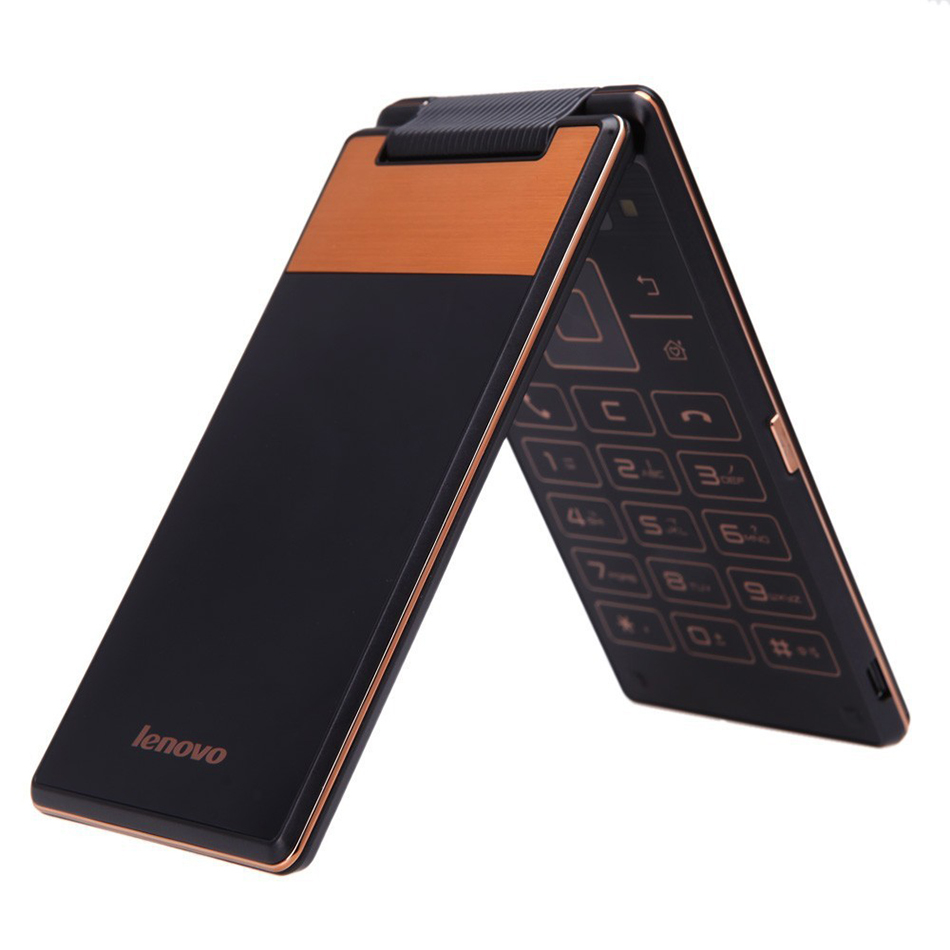 lenovo a588t smartphone flip phone android 4 4 mtk6582 4 0 inch gps gold ebay. Black Bedroom Furniture Sets. Home Design Ideas