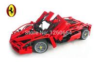 1242pcs 1:8 f1 формула гоночного автомобиля модель блоки строительные кирпичи набор образовательные игрушки детям подарок совместим с lego technic