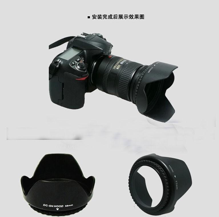 for Pentax K10D Flower Design 55mm Pro Digital Lens Hood