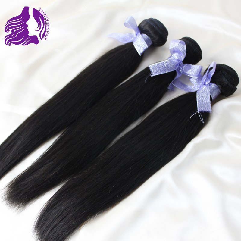 Malaysian Virgin Hair Unprocessed Straight Hair Weft Rosa Hair Products Remy Queen Human Hair Weave 6a Cheap Good Quality Stock(China (Mainland))
