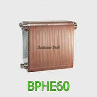 60 plates Brazed Plate Heat Exchanger SUS316 Stainless Steel,recirculating chiller