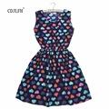Chani Brand of F H 2015 Spring plus size Fashion party dress sexy Flower vestido prints