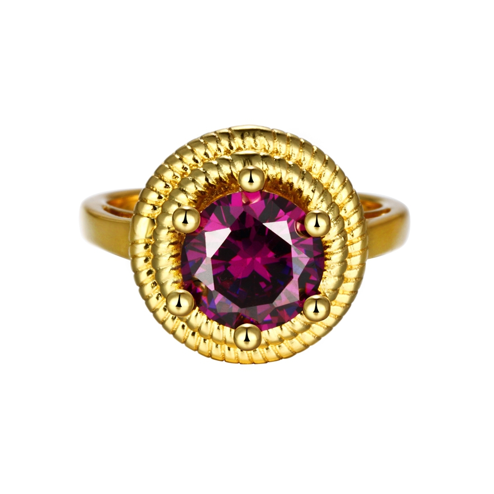 fashion large rings vintage simulated ring with