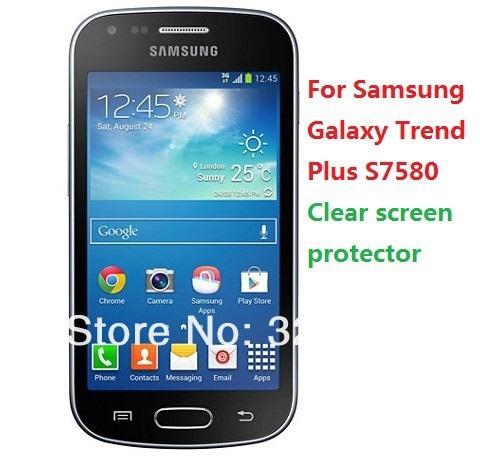 Здесь можно купить  DHL Free shipping 500pcs/lot High quality Clear screen protector For Samsung Galaxy Trend Plus S7580  Телефоны и Телекоммуникации