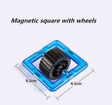 Площадь С Колеса Автомобиля Магнитные Строительство Игрушки Малышей Обучающая Игра Сборки Конструкции