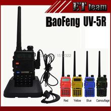 2015 Hot Tragbares Radio BAOFENG UV-5R Funkgeräte Walkie Talkie Pofung 5 Watt VHF UHF Dual Band 136-174 400-520 MHz baofeng uv 5r(China (Mainland))