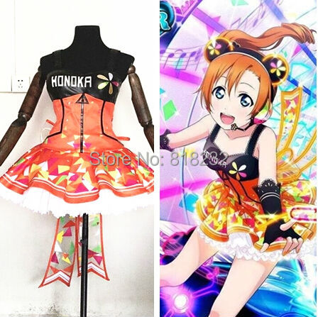 Custom Made Love Live LoveLive-Love-Live-Games-Awaken-Kousaka-Honoka-Light-Up-Slip-Dress-Tee-Dress-Uniform-Outfit-Cosplay.jpg_640x640