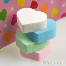 4x Makeup Sponge Blender Powder Smooth Heart Shape Puff Flawless Beauty Foundation 1T3K