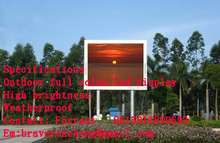 p10 out door full color led dispaly cabinet size 640*640 total 24 cabinet 9.83 Sq with LINSN sendin card/receive card  Hub card.(China (Mainland))
