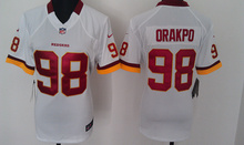 Women ladies all stitched PINK love Washington Redskins #46 Alfred Morris 11 DeSean Jackson 91 Ryan Kerrigan(China (Mainland))
