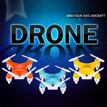Mini Wifi Drone 2.4G 6 Axis FPV Camera HD 3D RC Quadcopter Transmission Hobby Mobile Control Helicopter