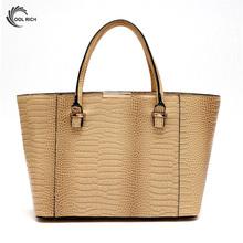 2016 High Quality Crocodile Leather Women Bag Bolsa De Festa Crossbody Shoulder Messenger Bags Woman Luxury Handbags Tote Bolsas