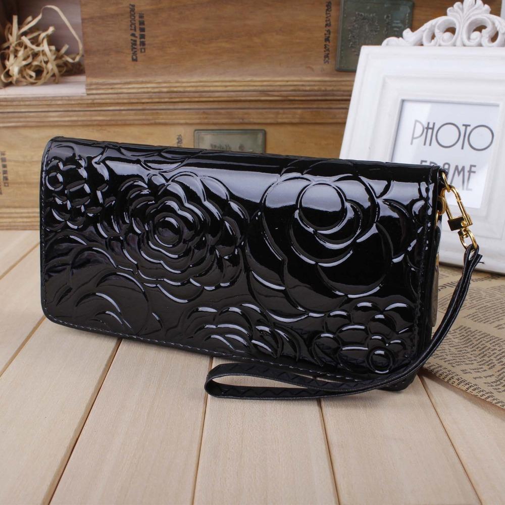 кожа бумажник цветок текстуры много ...: ru.aliexpress.com/item/2015-New-zipper-leather-wallet-Flower...