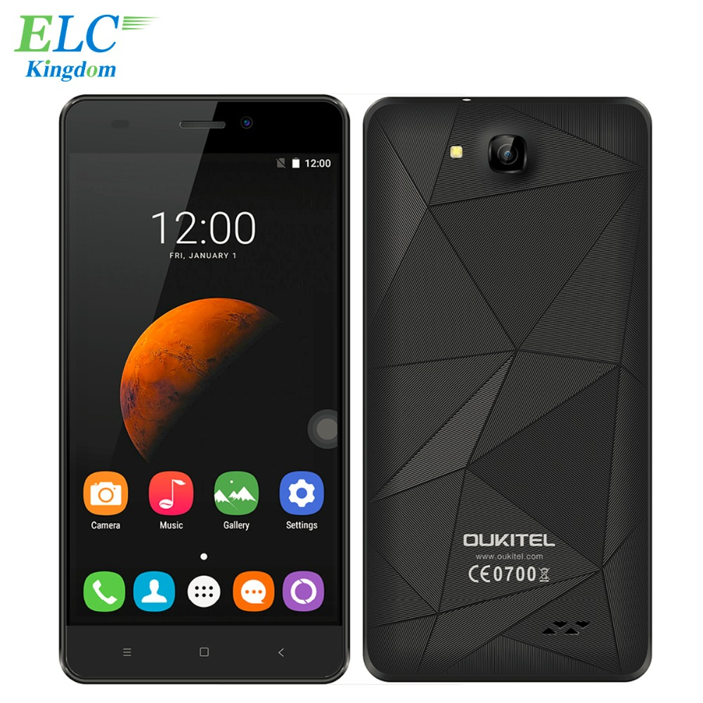 Original Oukitel C3 Smart Phone 5.0 Inch Unlocked 3G WCDMA Cellphones Android 6.0 Quad Core 1GB+8GB IPS HD Mobile Phone(China (Mainland))