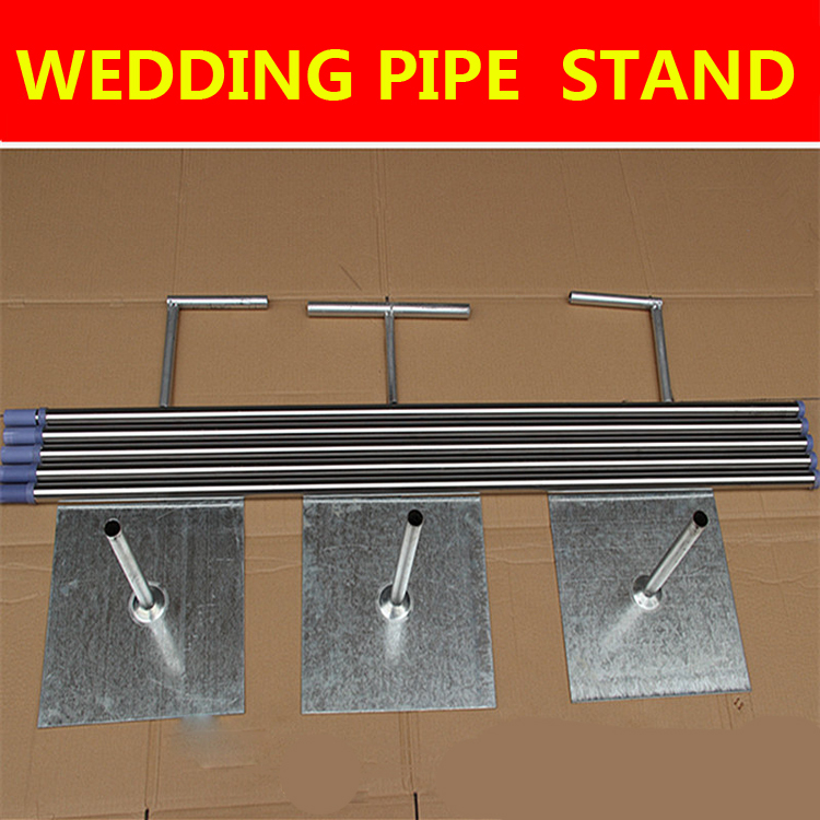 Buy 3m X 6m Wedding Stainless Steel Pipe Backdrop Stand With
