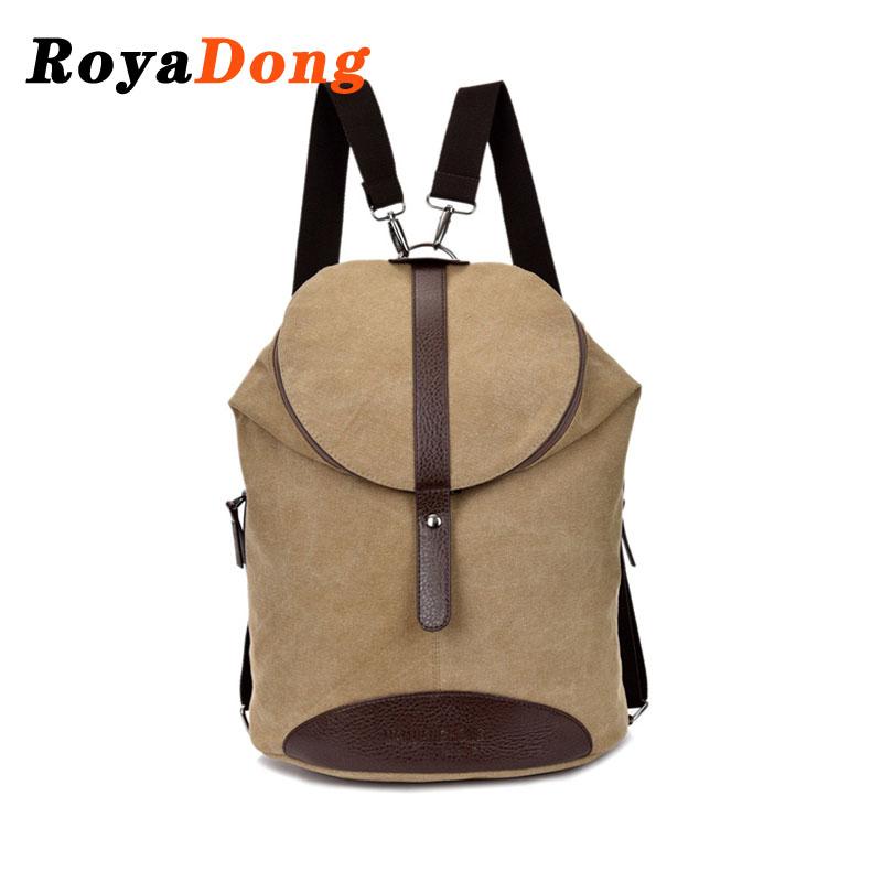 New Arrival Women Backpack Fashion Canvas Shoulders Bags Belts Womens Casual Daypack Rucksack Men Backpacks Knapsack 2015 New <br><br>Aliexpress