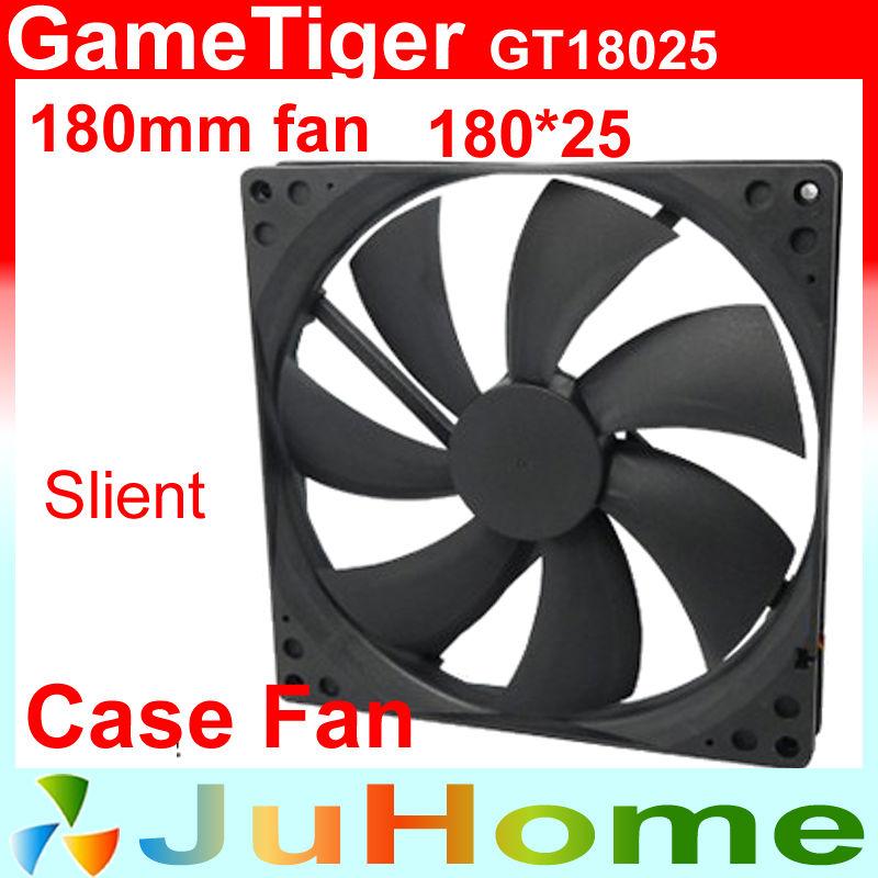 180mm, 18cm fan, quiet, for power supply, for computer Case, computer fan, GameTiger GT18025<br><br>Aliexpress