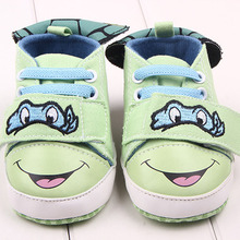 Factory Direct Sales of The Latest Fashion Shoes Boy Small Crocodile Baby Toddler Creative Leisure Shoes, Canvas baby Shoes(China (Mainland))