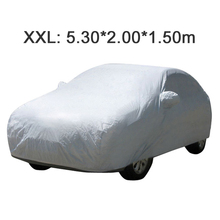 UNIVERSAL Anti UV RAIN Styling Sunshade Heat Protection Dustproof OUTDOOR FULL CAR COVER(China (Mainland))