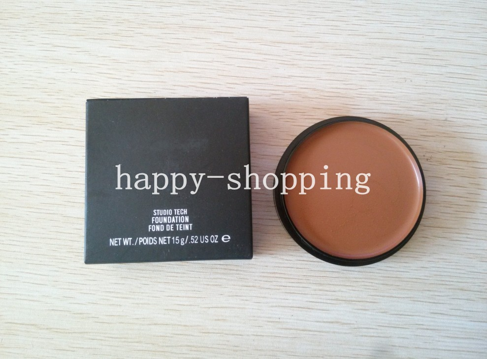 2015 Hot sale - 1 pcs M studio tech foundation 15g makeup! Free shipping(China (Mainland))