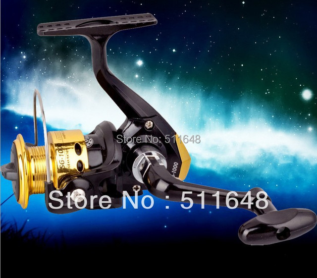 Drop shipping 1PCS SG-1000 Metal Head Fishing Spinning Reel Right-left interchangeable Freeshipping