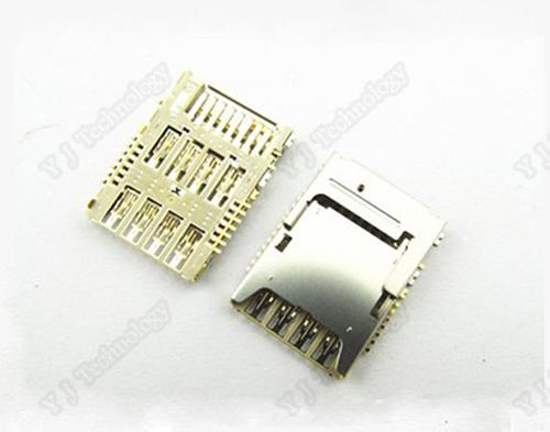 10 pcs/lot OEM New SIM card Reader Holder Reader Tray for LG G3 D855 D850 D851 Repair Replacement Part