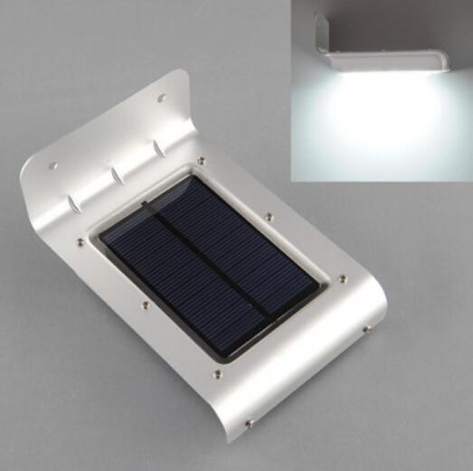 Comprar pared exterior solar l mpara de la for Lampara solar pared exterior