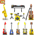 LOZ Musical Instruments toys Mini Diamond Building block kids toys gift educational Toy christmas gifts Action