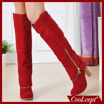 rm winter botas heels fwomen high heel over knee boots ladies riding fashion long snow boot waootwear shoes P399 size 34-43