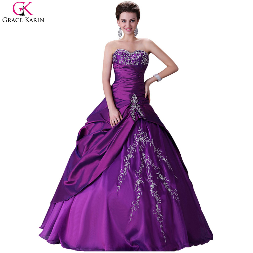 Purple Wedding Dresses For  : Purple wedding dresses weddingdress formal party dress cl