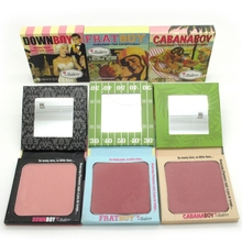 3pcs/lot Thebalm fart boy,cabana boy, The Balm down boy shadow and blush Makeup blusher palette free shipping(China (Mainland))
