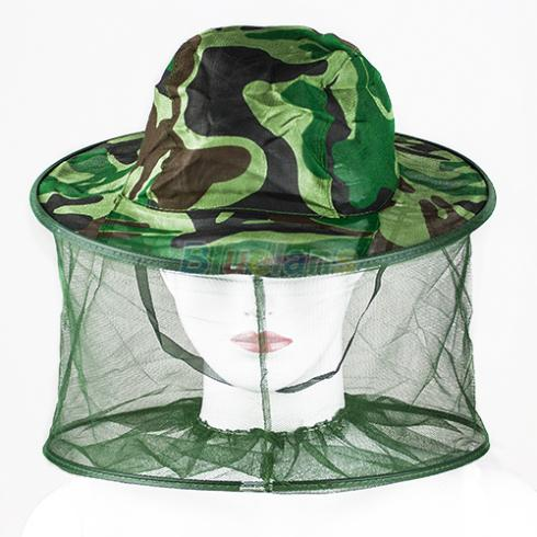 Mosquito Bug Insect Bee Resistance Sun Net Mesh Head Face Protector Hat Cap for Men Women Fishing Summer 1FIJ(China (Mainland))