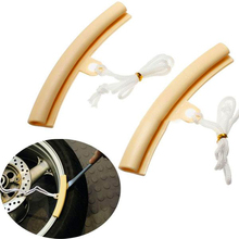 2 Pieces Plastic Wheel Rim Protector for Passenger Car & Motorcycle Tire Repairing Tool Free Shipping(China (Mainland))