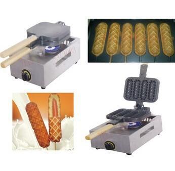 Продажа газа типа вафельницы / палочке вафельный автомат fy-114.r