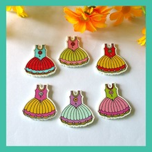 Buy 30Pcs Mixed Wooden Buttons 2 Holes Wood Pattern Skirts Sewing Scrapbooking 28*30mm botones decorative buttons for $2.20 in AliExpress store