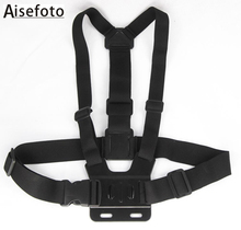 Buy Go Pro Adjustable Chest Body Tripod Harness Belt Strap Mount Black Gopro Hero 4 3+2 Sj4000 Xiaomi Yi Camera Accessories for $6.12 in AliExpress store