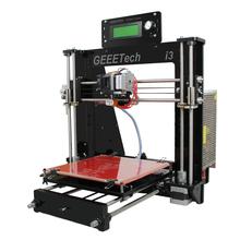 Updated Version 3D Printer Machine 8MM Acrylic Frame Reprap Prusa i3 High Precision Impressora DIY Kit 1Kg Filament LCD Screen