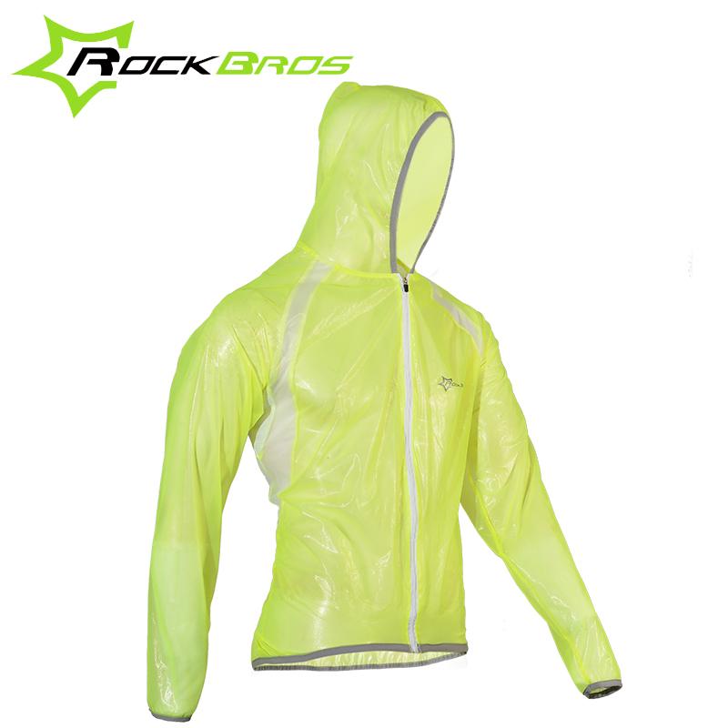 ROCKBROS MTB Cycling Jersey Multif Function Jacket Waterproof Windproof TPU Raincoat Bike Bicycle Cycling Clothes 3 Colors(China (Mainland))