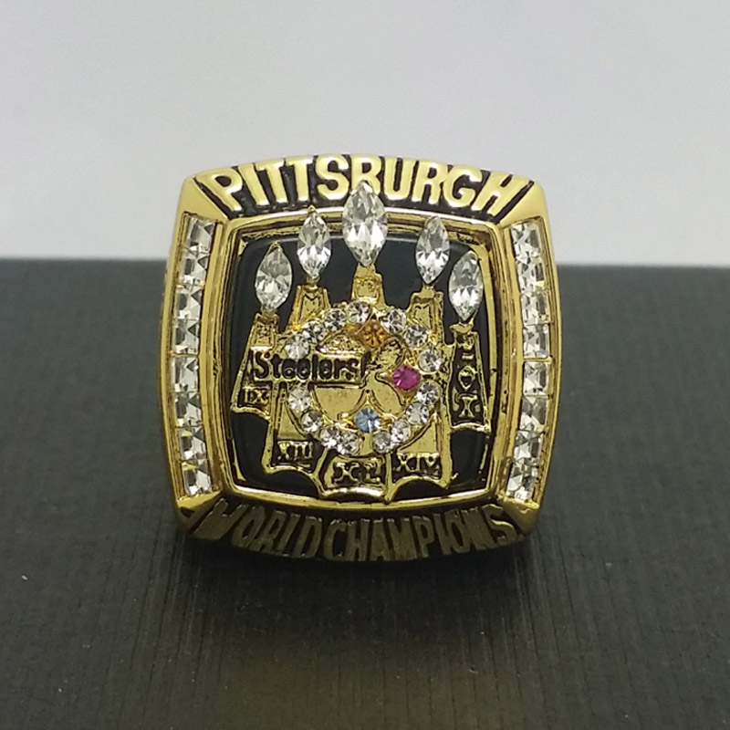 NFL 2005 Pittsburgh Steelers Football Super Bowl World Championship Ring 11Size 'Hines Ward' Fans Best Solid Back Gift(China (Mainland))