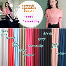 Stretch Spandex Fabric Knitted Fabric Jersey Fabric Skirt Underdress Elastic Fabric Bikini Swimwear By The Yard  Free shipping(China (Mainland))