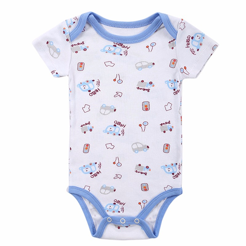 Top Quality Bodies Bebes Baby Romper Summer Cartoon Style Baby Clothing Infant Jumpsuit Baby Newborn 100% Cotton Baby Clothes (1)