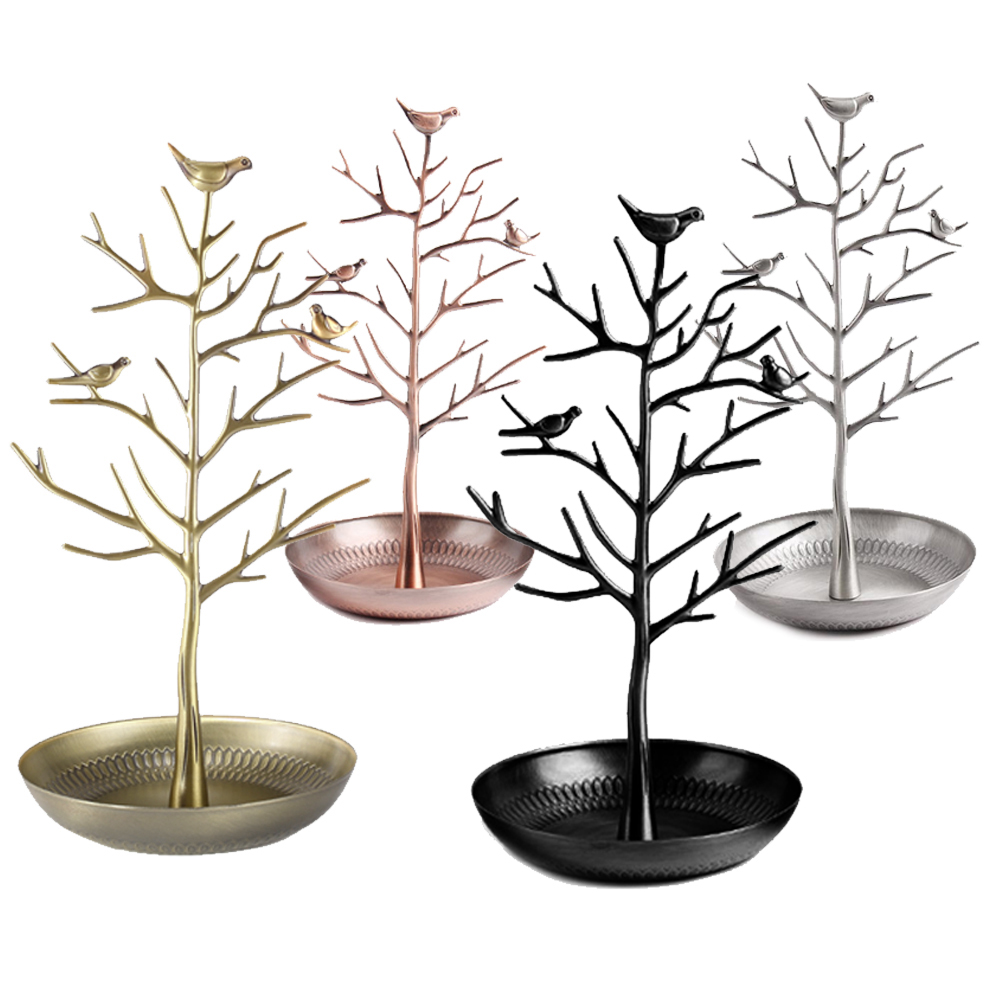 Bird Tree Jewelry Display Stand Earring Necklace Bracelet Rack Holder Display Jewelry holder(China (Mainland))