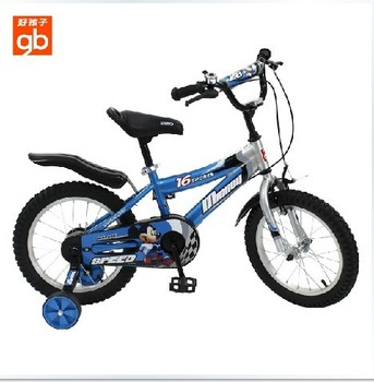 "Popular High Quality 16"" Kid's Bike Mountain bike bicycle for children with two color Children's Gift"
