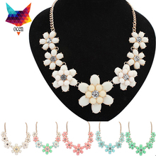 New Arrival Fashion sparkling Rhinestone Necklace Big Gem Long Design Women Necklace Bijoux  lady for party  &Pendants #050(China (Mainland))