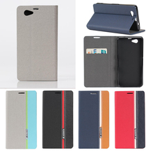Buy Luxury Mix Color Flip Case Coque Sony Xperia Z1 Compact D5503 Leather Soft Silicon Wallet Cover Sony Z1 Mini Case Fundas for $3.82 in AliExpress store