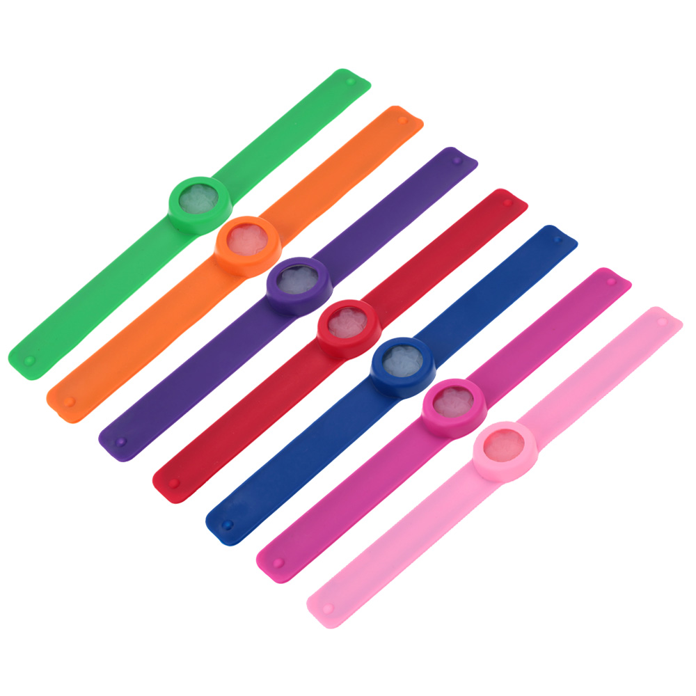 Mosquito Repellent Slap Bracelet Wristband Infused Lemongrass Citronella Cool Design Baby Anti-Mosquitoes Killer Repelling Ring(China (Mainland))