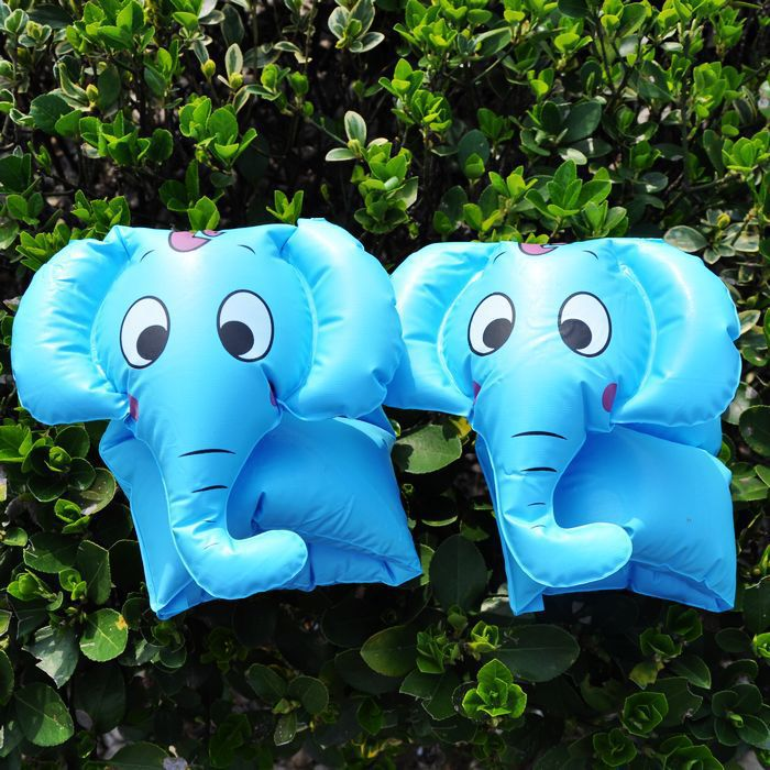 Hot Sale summer style kids arm floats, swimming pool accessories for children, baby swimming ring, Blue elephant swimtrainer(China (Mainland))