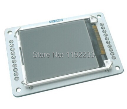 2pcs/lot 1.8 Inch TFT LCD Expansion Special-purpose For Arduino Esplora Support Micro SD(China (Mainland))