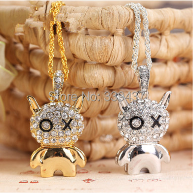 Real capacity USB stick crystal pen drive Ox doll fashion personalized USB flash 4GB/8GB/16GB/32GB lover gift flash drive(China (Mainland))