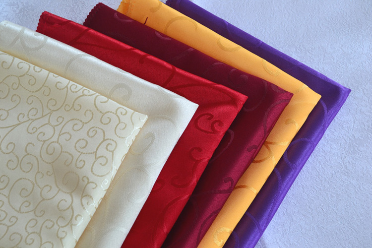 10pcs/lot more color high-grade jacquard damask cloth napkins hotel wedding table decoration mouth cloth cloth placemat 48*48cm(China (Mainland))